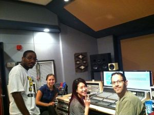 Interns and Staff in DBE Studio