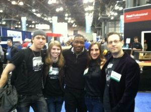 JT and gang at AES 2011