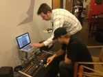 Jim Motley of SSL showing Josh the Nucleus