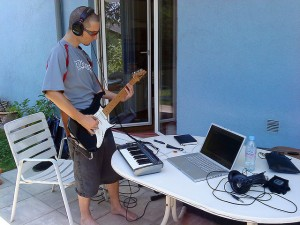 Recording on your patio!